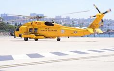 July 21, 2016 - Coast Guard Sector San Diego now has new yellow-painted MH-60…