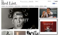 The Red List Lets You Study the Work of the Greatest Photographers