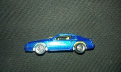 1983 TURBO HEATER,hot wheels,blue,hood opens,looks nice,good cond,rare,toy car!!