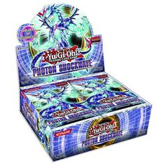 Collectible Trading Card Booster Packs - YuGiOh Booster Pack Photon Shockwave english Edition Box with 24 Booster Packs *** Read more reviews of the product by visiting the link on the image.
