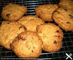 Rosinen - Kokos - Kekse, ein sehr schönes Rezept aus der Kategorie Kekse & Plätzchen. Bewertungen: 44. Durchschnitt: Ø 4,3.