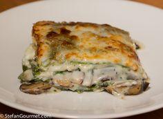 Mushroom Lasagna (Lasagne ai Funghi)