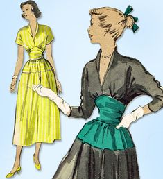 Excited to share the latest addition to my #etsy shop: 1940s Original Vintage Butterick Pattern 4922 Misses Afternoon Dress Size 30 B http://etsy.me/2nOtaVA #supplies #sewing #missespattern #sewingpattern #vintagepatterns #1940ssewingpattern #1940spattern #dresspattern