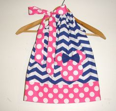 sale 15 off coupon is  summer   Minnie PINK white by minnieschild, $16.99
