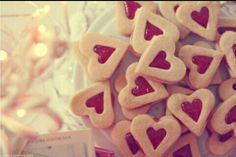Image de heart, Cookies, and food