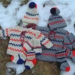 Pippitröja, mössa, sockar och vantar till både stora och små barn i Queen Baby Born, 4th Of July Wreath, Handicraft, Jeans, Winter Hats, Knitting, Children, Pattern, Blog