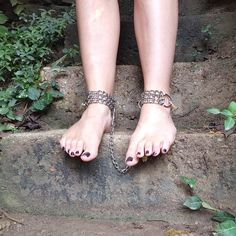 Your place to buy and sell all things handmade Cute Toes, Pretty Toes, Kitten Play Collar, Toe Polish, Gorgeous Feet, Sexy Toes, Thing 1, Anklets, Bracelets