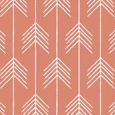 Hawthorne Threads - Etched - Vanes in Desert Rose