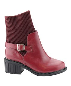 Burgundy Atlanta Boot