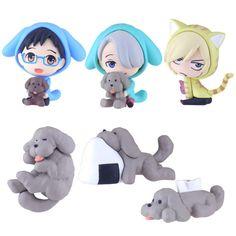 Chara-Forme Yuri on Ice Swing Mascot Collection 6Pack BOX - Фигурки купить в аниме интернет-магазине Fast Anime Studio