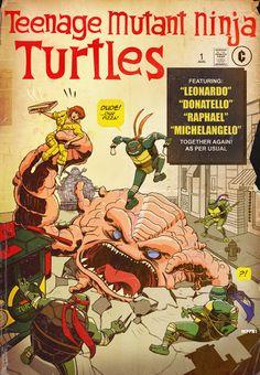 TMNT Classic Comic cover