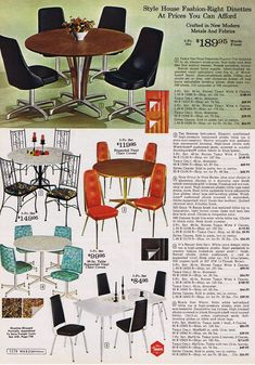 Vintage Wards Catalog Wicker Montgomery Ward Dinette