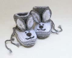 zapatitos tejido bebes a crochet conejo10