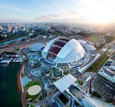 DP architects   arup associates design singapore national sports hub - designboom   architecture