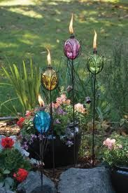 Love these WAY more than tiki torches!