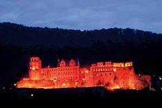 Heidelburg Castle Illumination - Germany