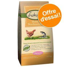 Animalerie  Croquettes Lukullus 15 kg à prix spécial !  Junior poulet saumon pour chiot
