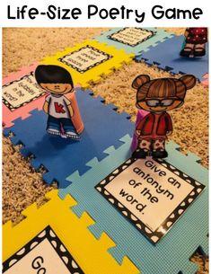 DIY Life-Size Game Boards to engage students.   game   diy   language arts   fun for kids   engagement   learning fun #learningisfun #languagearts