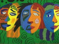 It is a great introduction into Cubism and the Cubist faces by Picasso