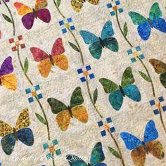 Laundry Basket Quilts Batik Butterflies