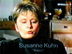Kessie (Susanne Kuhn) en1995.  Reportage Spiegel TV.
