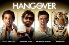 BIG fat ugly Hangovers- Iko Iko=oh it hurts to get fucked up tha ass& PIMPed in movies for no pay.The Hangover Soundtrack- Iko Iko Comedy Movies 2014, Comedy Films, Funny Movies, Movies Showing, Movies And Tv Shows, The Hangover 2009, Las Vegas, Zach Galifianakis, Bradley Cooper