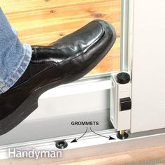 10 Safe Home Security Tips: Install a second patio door lock. Get the tips: http://www.familyhandyman.com/home-security/safe-home-security-tips/view-all