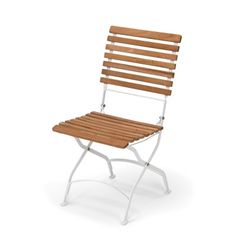 Grenen chair, white/teak