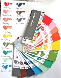 Color Theory 1-12 / Copic Marker match by Tinkerbeth at @Studio_Calico