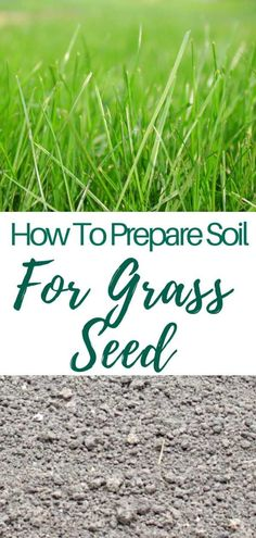 HOW TO PREPARE SOIL FOR GRASS SEED - Growing a healthy lawn from scratch requires a healthy soil. Success or failure is strongly tied to the way you get the soil ready for seeding. Here's how to prepare soil for grass seed.  #easypeasycreativeideas #gardening #gardens #gardenideas #gardeningtips #lawn #lawncare #howto #howtomake