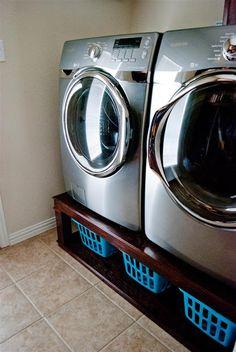 craftyc0rn3r: Washer and Dryer Pedestal