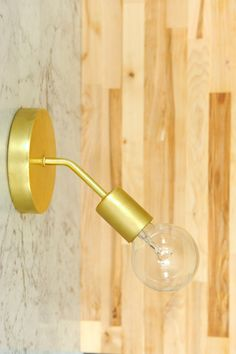 Bathroom Sconces Point Up Or Down mid-century modern, brass, globe wall sconce i etsy items i love i