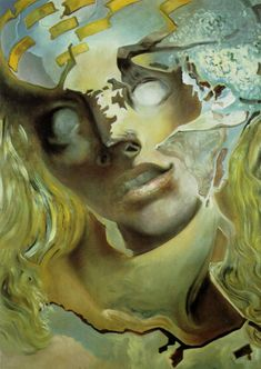 Landscape Near Figueras Salvador Dali | Exploded Head