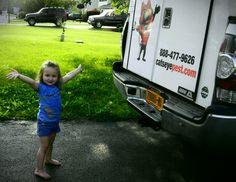 Ta-Da! Looking cool like #Caddie next to a #Catseye truck