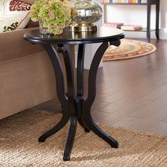 Daffodil Table - Black | Pier 1 Imports