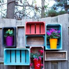 Merveilleux Create Rustic Outdoor Storage With Wooden Crates