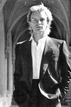 Sting by Helmut Newton