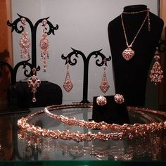 Wendy Louise collection can be ordered in Rose Gold . by wendylouisedesigns Wedding Looks, Rose Gold, Bride, Instagram Posts, Accessories, Collection, Jewelry, Design, Fashion