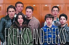 YA COLLECTION: Freaks and Geeks--hilarious replay of high school life.