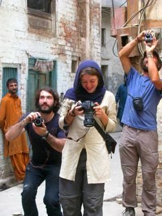 Western photographers capturing the inner city of Pakistan with their cameras.