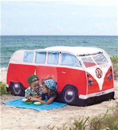 Buy Kids' Pop-Up VW Camper Van Tent - Camping Outdoor VW Bus Van ...
