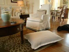 drop cloth bed for dogs