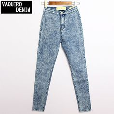 2016 New Fashion Jeans Women Pencil Pants High Waist Jeans Sexy Slim Elastic Skinny Pants Trousers Fit Lady Jeans Plus Size 021