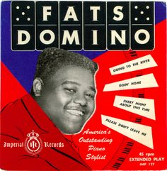 Fats Domino, record cover