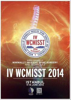 4th WCMISST Congress Combined with 8th TURKMISS Precongress Cadaver Workshop:  http://www.tumkongreler.com/kongre/4th-wcmisst-congress-combined-8th-turkmiss-precongress-cadaver-workshop #SpineSurgery #Istanbul