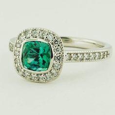 Green Tourmaline Gem Stone Ring | Google Image Result for http://www.brilliantearth.com/news/wp-content/uploads/2013/05/White-Gold-Seafoam-Tourmaline-Fancy-Bezel-Halo-Diamond-Ring-with-Sidestones-20130524.jpg