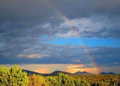 Grateful for the rain...this photo is oh so, Santa Fe!