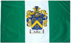 Auffret Coat of Arms / Family Crest Flag