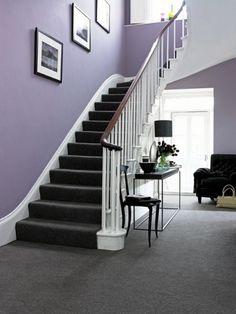 Carpet Stairs Carpeting Ideas Grey Hallway