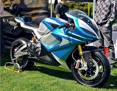 LS-218, a moto elétrica mais rápida do mundo, chega a incríveis 350 km/h